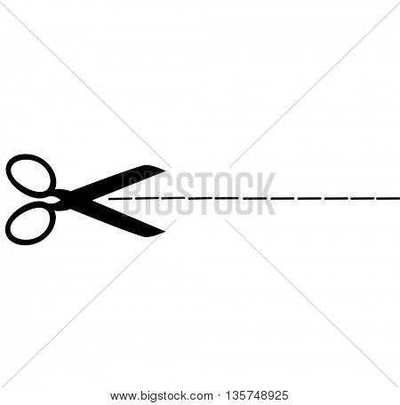 scissors cutting