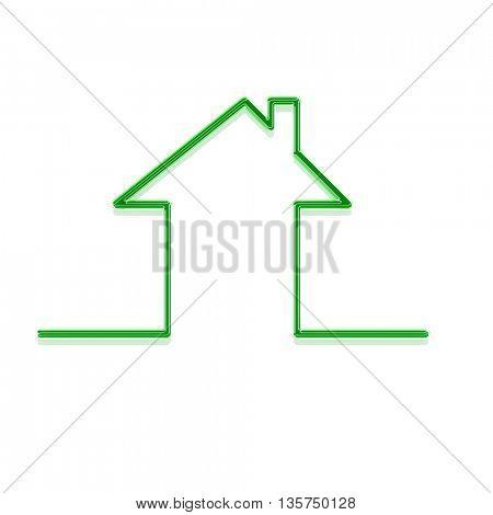 ecology house shape metaphor
