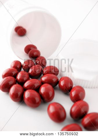 many spilled pills
