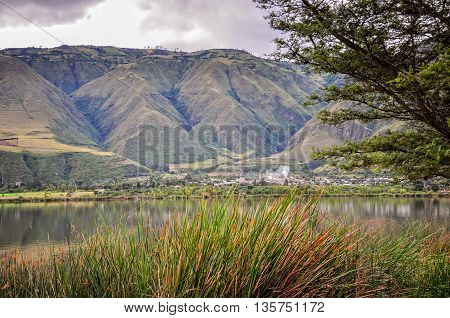 Laguna Potrerillos Is Located In The Carchi Area Of The Country Of Ecuador South America