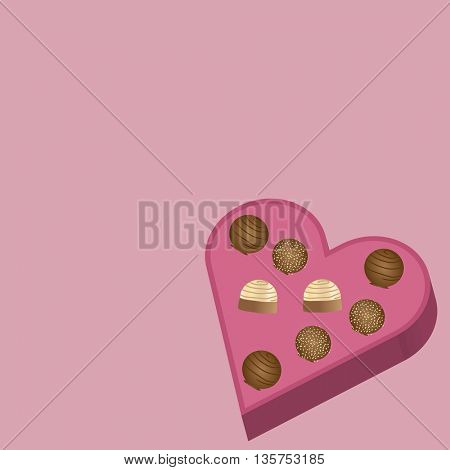 valentine's day candy heart shaped box chocolates