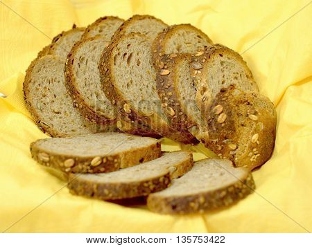 Close-up of toast bread