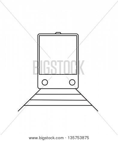 train illustrations or symbols