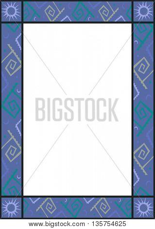 photo frame chartoon