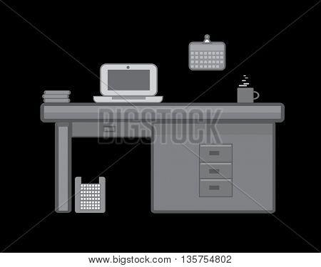 Modern Office Room