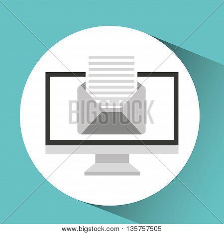 office equipment design, vector illustration eps10 graphic