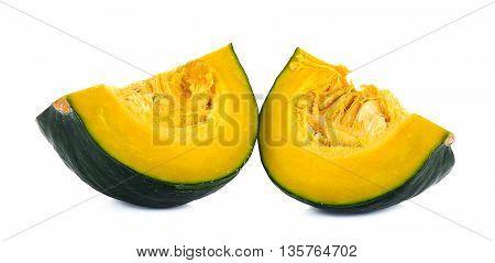 Green Pumpkin Isolated