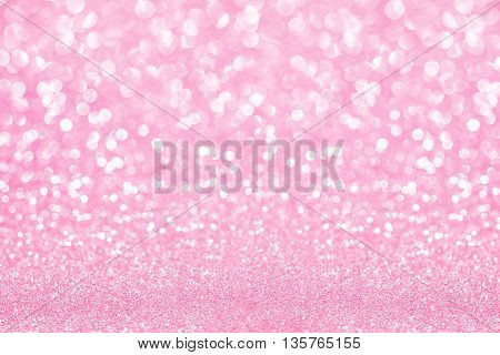 pink and white glitter texture abstract background