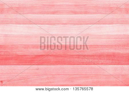 Abstract wood texture background painted coral pink or peach color