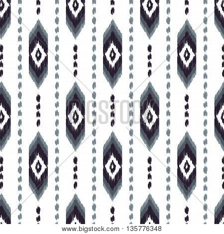 Aztec seamless pattern. American native ethnic textile pattern. Hipster striped seamless pattern. Navajo abstract background. Design may be used for wallpaper, textile, wrapper.