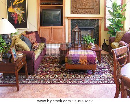 Living room interior of a home