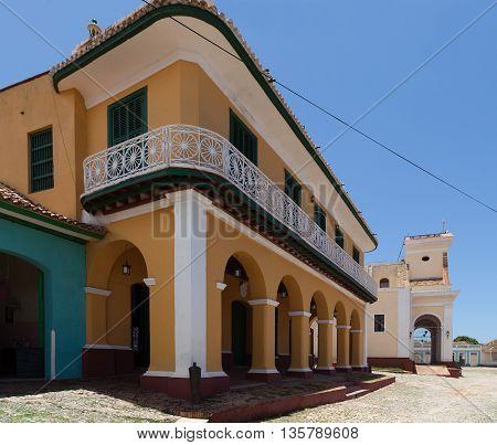 The world heritage city Trinidad in Cuba