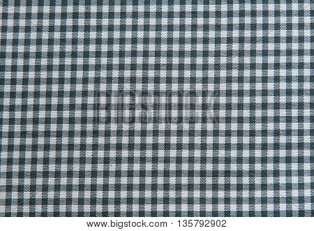 Black and white tablecloth background plaid fabric texture