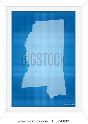 Mississippi On Blueprint