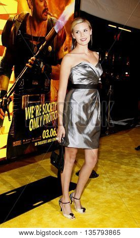 Maggie Grace at the Los Angeles premiere of 'Watchmen' held at the Grauman's Chinese Theater in Hollywood, USA on March 3, 2009.