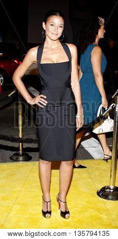 Emmanuelle Chriqui at the Los Angeles premiere of 'Watchmen' held at the Grauman's Chinese Theater in Hollywood, USA on March 3, 2009.
