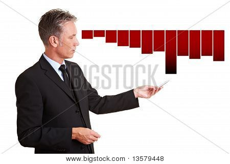 Manager Explaining Financial Loss