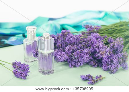 Aromatherapy oil and lavender, lavender spa, Wellness with lavender