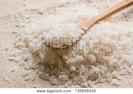 Rice With Spoon