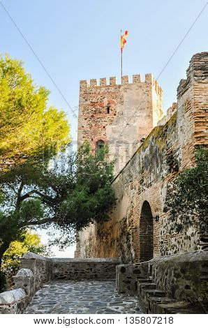 Sohail Castle in Fuengirola, Costa del Sol, Malaga Province, Spain