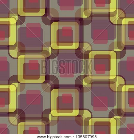 Background vector illustration seamless pattern of colored squares.
