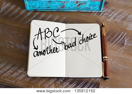 Business Acronym Abc As Another Bad Choice