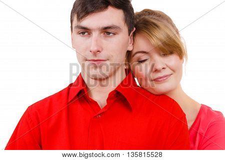 Girl Rest With Boyfriend.