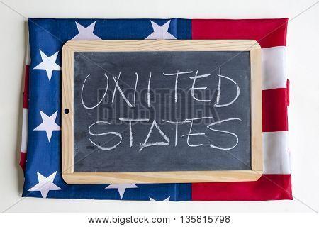 American Flag Celebrating The United States Of America