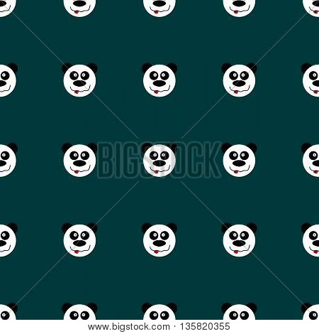 Seamless Pattern Panda