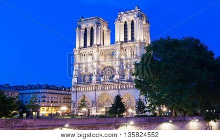 The Notre Dame is a Catholic historical cathedral on the eastern half of Ile de la Cite in Paris.It is one of the most visited monuments in France.