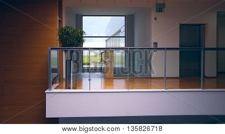 interior of building that you can see clarity surrounding objects