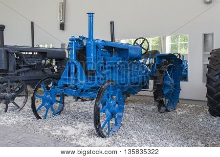 "Tractor ""universal"" In The Museum Of Tractors. City Cheboksary, Chuvash Republic, Russia."
