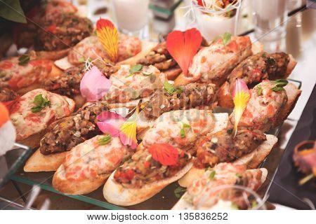 Buffet Brunch Food Eating Festive Cafe Dining Concept