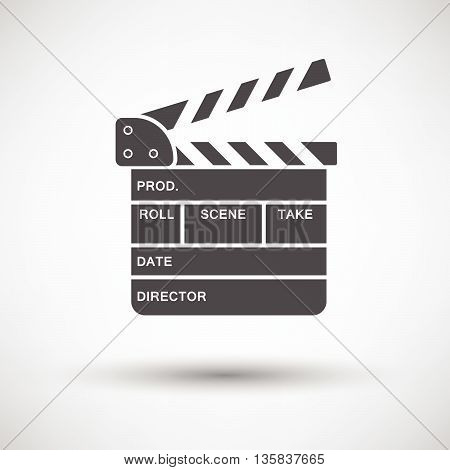 Movie Clap Board Icon