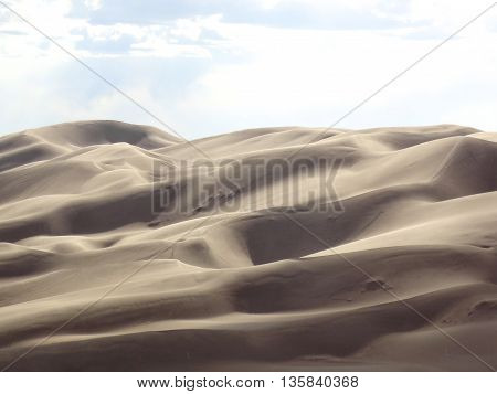 Sand dunes at Great Sand Dunes National Park