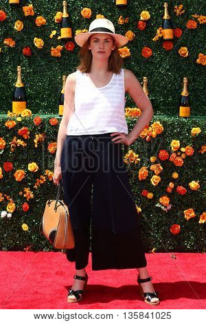 JERSEY CITY, NJ - MAY 30: Actress Ruth Wilson attends the 8th Annual Veuve Clicquot Polo Classic at Liberty State Park on May 30, 2015 in Jersey  City, New Jersey.