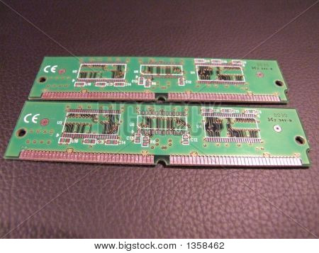 Two Memory Sticks