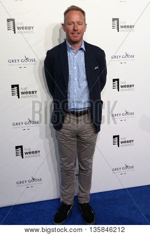 NEW YORK, NY - MAY 18: CEO of Springwise James Bidwell attends the 19th Annual Webby Awards at Cipriani Wall Street on May 18, 2015 in New York City.