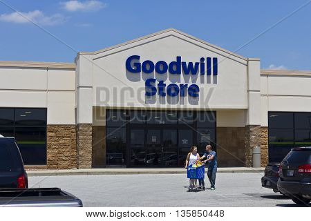Indianapolis - Circa June 2016: A Goodwill Store. In 2015 Goodwill helped more than 26.4 million people train for careers II