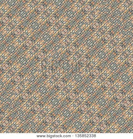 Cobblestone Geometric Pattern