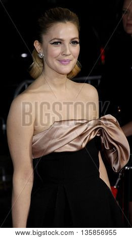 Drew Barrymore at the World premiere of 'He's Just Not That Into You' held at the Grauman's Chinese Theater in Hollywood, USA on February 2, 2009.