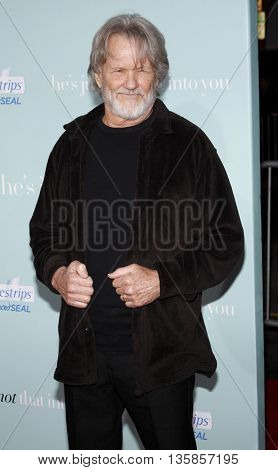 Kris Kristofferson at the World premiere of 'He's Just Not That Into You' held at the Grauman's Chinese Theater in Hollywood, USA on February 2, 2009.
