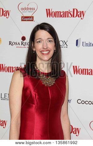 NEW YORK-FEB 10, 2015: Publisher and CRO, Woman's Day, Kassie Means attends the 12th Annual Woman's Day Red Dress Awards at Jazz at Lincoln Center on February 10, 2015 in New York City.