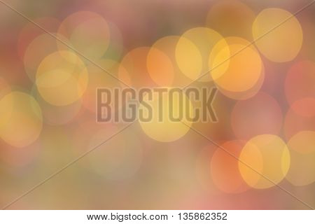 yellow pink colorful circle bokeh abstract  background