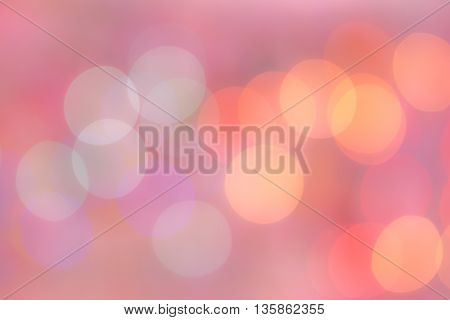 pink red colorful circle abstract  bokeh background
