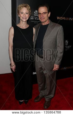 NEW YORK-MAR 30: Actor Peter Scolari (R) and wife Tracy Shayne attend the