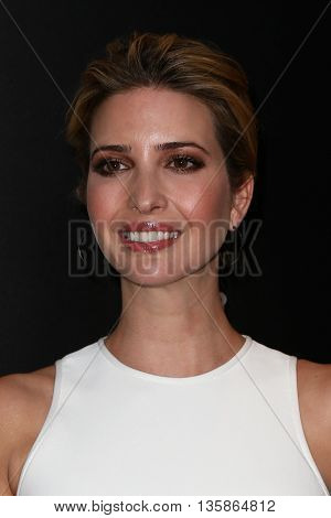 NEW YORK-MAR 30: Model Ivanka Trump attends the