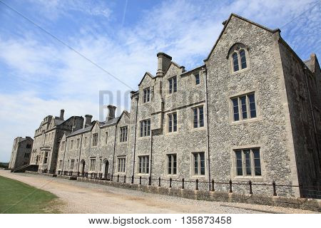 medieval English architecture of Dover in England