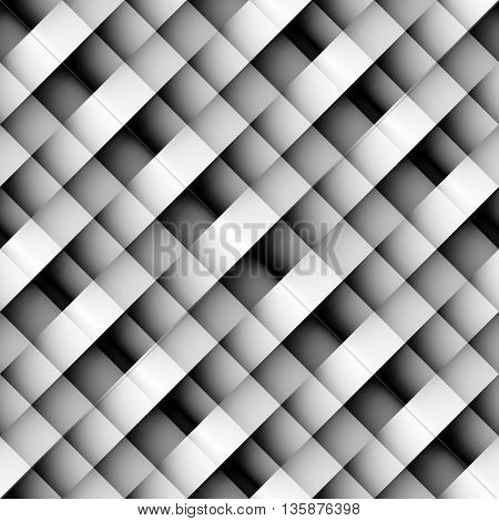 Seamless background pattern. Diagonal strips in pixel style