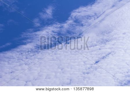 Beauty Sky with clouds , nature background